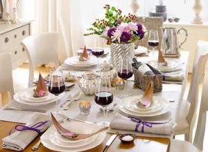 Geschirr zuhausewohnen for Tischdekoration festlich