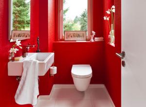 Meist Ist Das Gäste WC Winzig Und Nur Mit Dem Nötigsten Ausgestattet. Es  Geht Auch Anders!