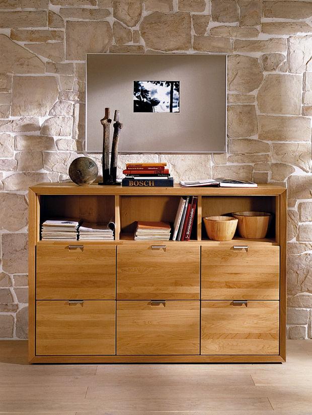 m bel aus massivem holz zuhausewohnen. Black Bedroom Furniture Sets. Home Design Ideas