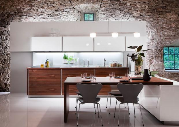 holzk chen mit wohnflair zuhausewohnen. Black Bedroom Furniture Sets. Home Design Ideas