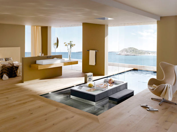 Edle bad klassiker zuhausewohnen for Badezimmerausstattung einrichten