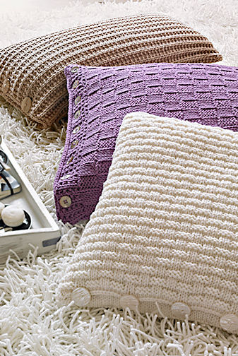 strick deko aus wolle zuhausewohnen. Black Bedroom Furniture Sets. Home Design Ideas