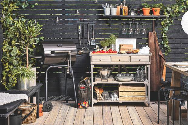 Outdoorküche Mit Gasgrill Zubehör : Coobinox drehspieß rotisserie be fit gasgrill luxus linie