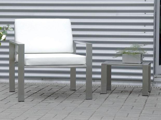 edelstahl gartenmobel lizzy heinen, gartenmöbel für drinnen und draußen | zuhausewohnen, Design ideen