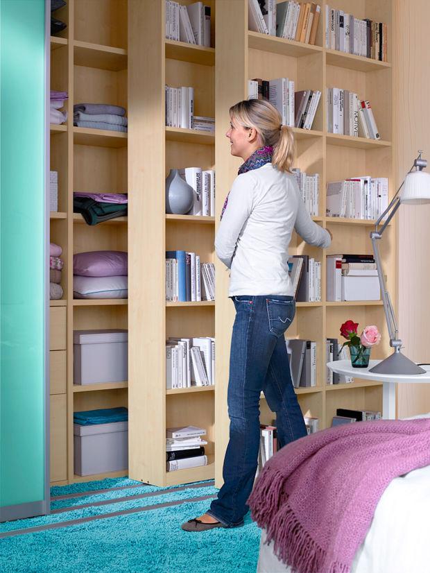 Schlafzimmer neugestaltung zuhausewohnen - Regalsystem schlafzimmer ...