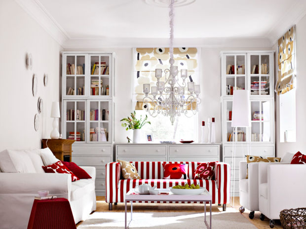 Rote Akzente in der Wohnung | Zuhausewohnen