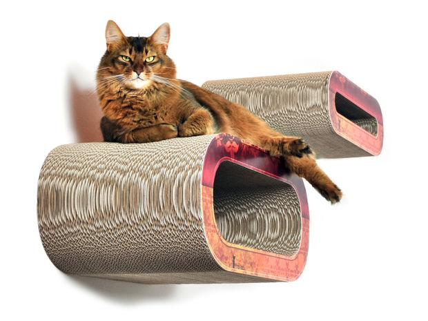 katzen accessoires zuhausewohnen. Black Bedroom Furniture Sets. Home Design Ideas