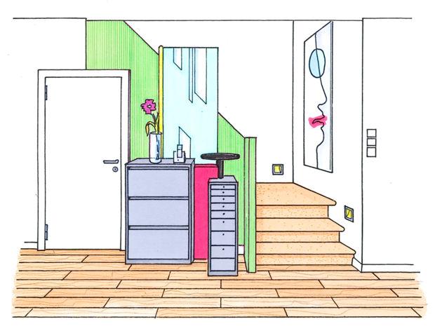 Flur Neu Gestalten Zuhausewohnen