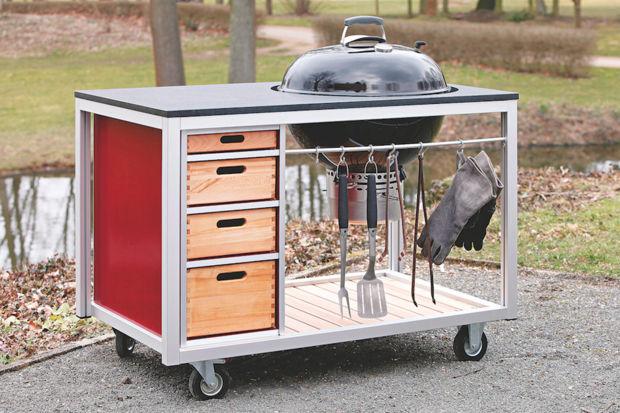 Outdoorküche Gas : Outdoorküchen zuhausewohnen