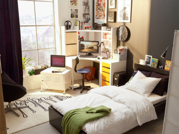 viel platz auf kleiner fl che zuhausewohnen. Black Bedroom Furniture Sets. Home Design Ideas