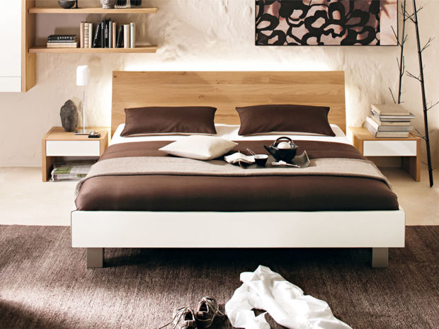bett nussbaum 180x200 latest bett gonda nussbaum with. Black Bedroom Furniture Sets. Home Design Ideas