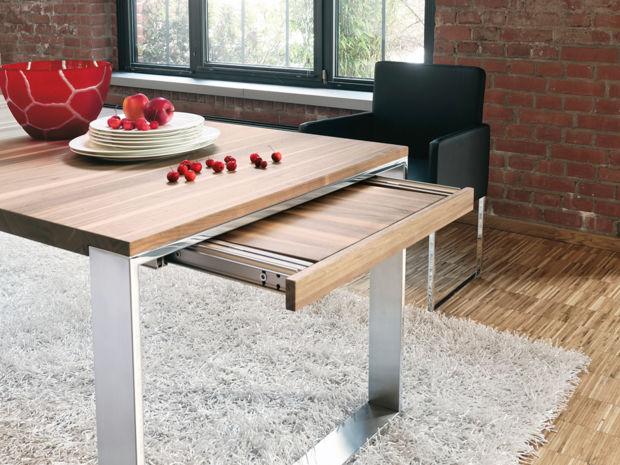 esstische zuhausewohnen. Black Bedroom Furniture Sets. Home Design Ideas