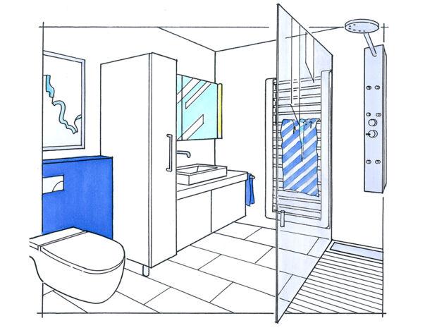 Das Minibad | Zuhausewohnen
