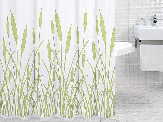 Natur im bad zuhausewohnen for Bauhaus duschvorhang