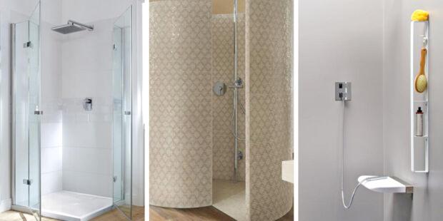 Begehbare Duschen. 4. Badezimmer