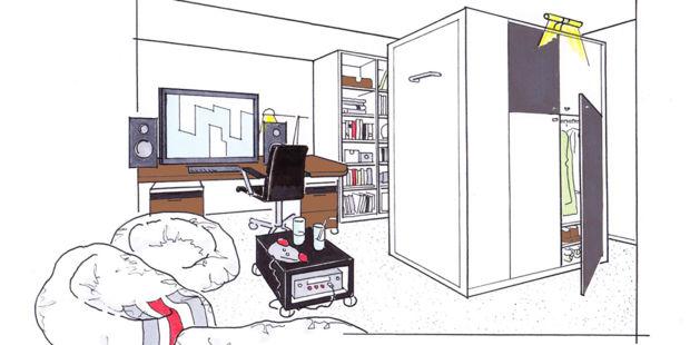 kinder jugendzimmer einrichten zuhausewohnen. Black Bedroom Furniture Sets. Home Design Ideas