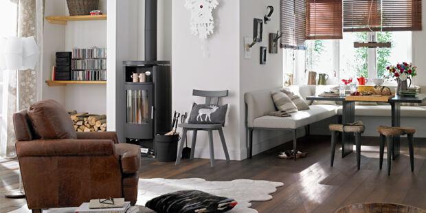 alpenstil wohnen wie in den bergen with alpenstil einrichtung. Black Bedroom Furniture Sets. Home Design Ideas