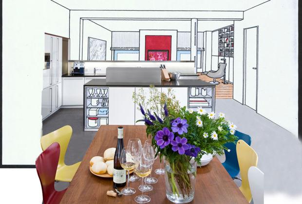 wohnk chen leicht gemacht zuhausewohnen. Black Bedroom Furniture Sets. Home Design Ideas