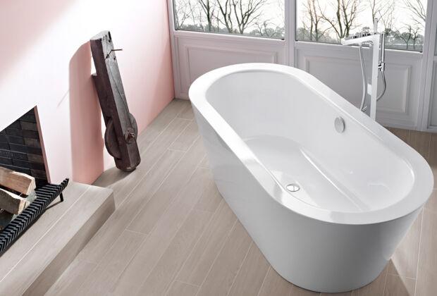 Bett & Bad in einem Raum | Zuhausewohnen