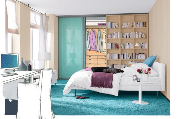 Schlafzimmer Neugestaltung | Zuhausewohnen