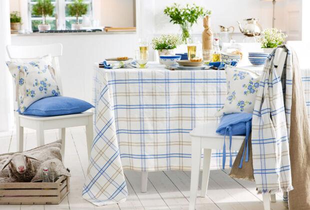 tischdecken sch n aber unpraktisch zuhausewohnen. Black Bedroom Furniture Sets. Home Design Ideas