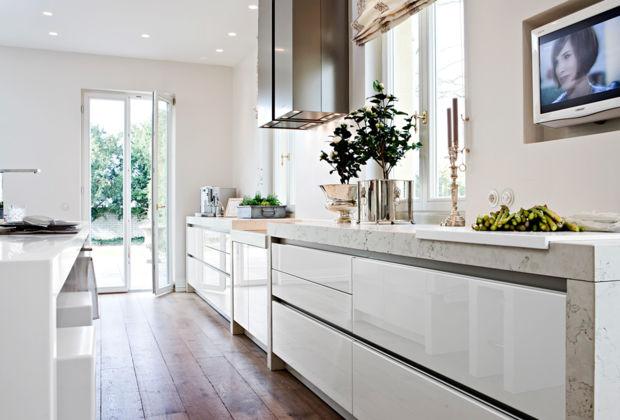 Küchentraum küchentraum in weiß zuhausewohnen