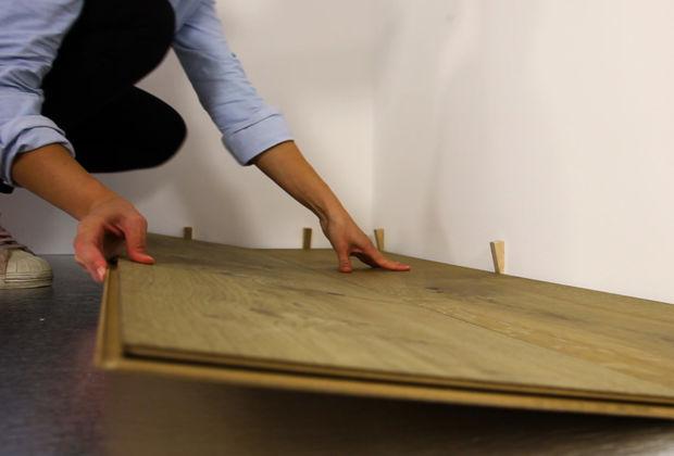 Holzfußboden Legen ~ Lindura holzboden richtig verlegen zuhausewohnen