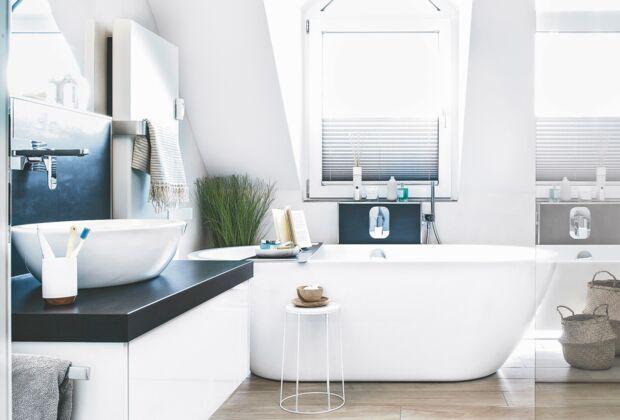 home office mit dachfenster ideen bilder, schwierige fenster schön gestalten | zuhausewohnen, Design ideen