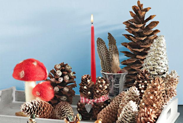 Basteln Mit Tannenzapfen Advent basteln mit zapfen zuhausewohnen