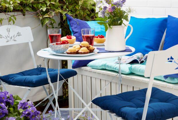 Balkon, Sommerliche Farben