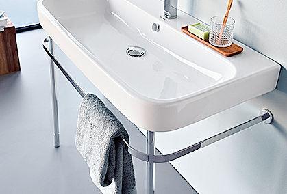 schmales bad clevere ideen zuhausewohnen. Black Bedroom Furniture Sets. Home Design Ideas
