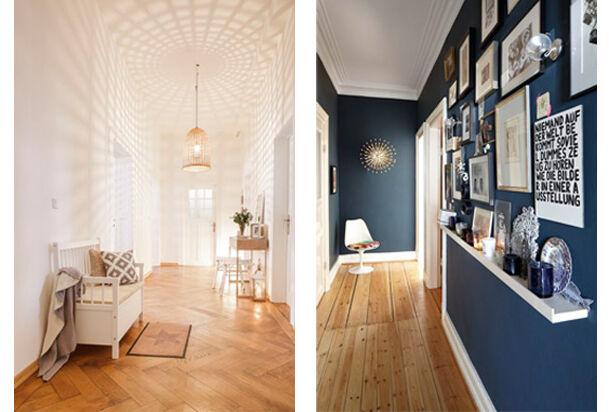 Was tun bei wohnraum mit wenig wohnfl che zuhausewohnen - Wandgestaltung altbau ...