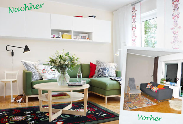 Zuhause Wohnen Und Ikea Gestalten Um Zuhausewohnen