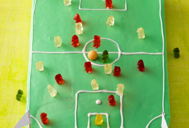 Rezept Fussball Torte