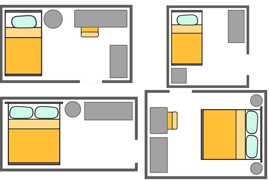 Kleines Schlafzimmer Einrichten Ideen Fur Kleine Grundrisse Zuhausewohnen