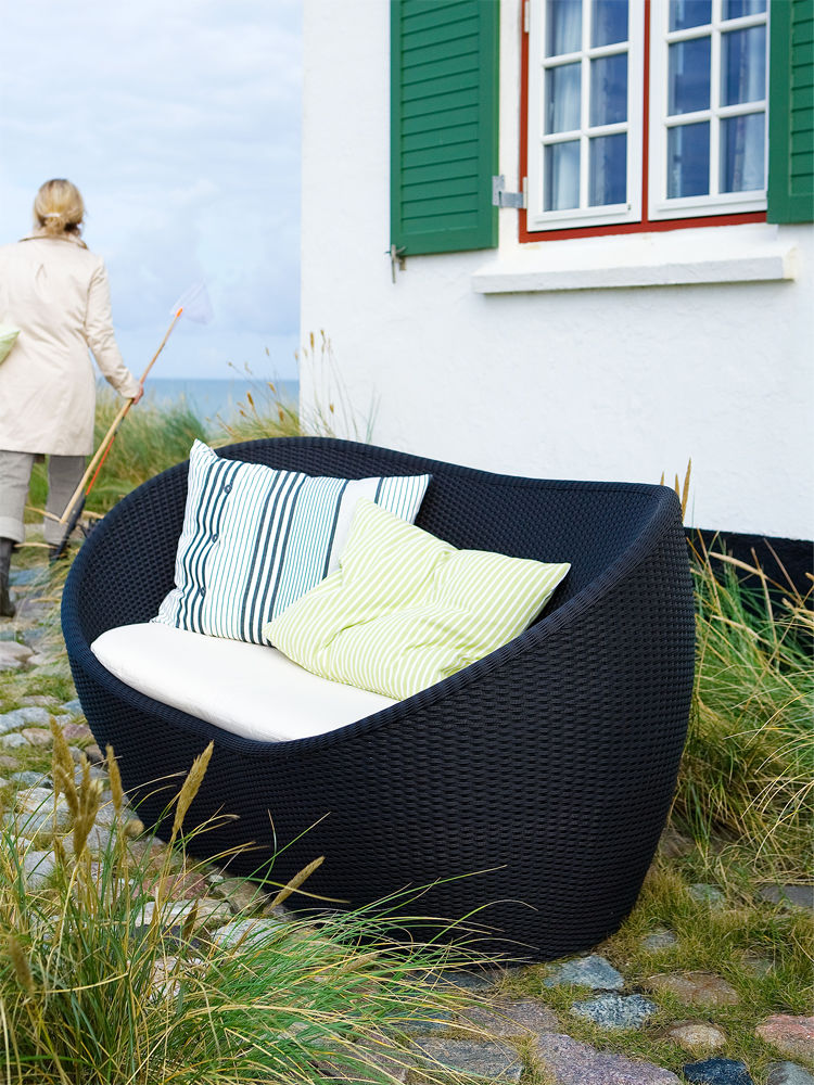 gartenm bel f r drinnen und drau en zuhausewohnen. Black Bedroom Furniture Sets. Home Design Ideas