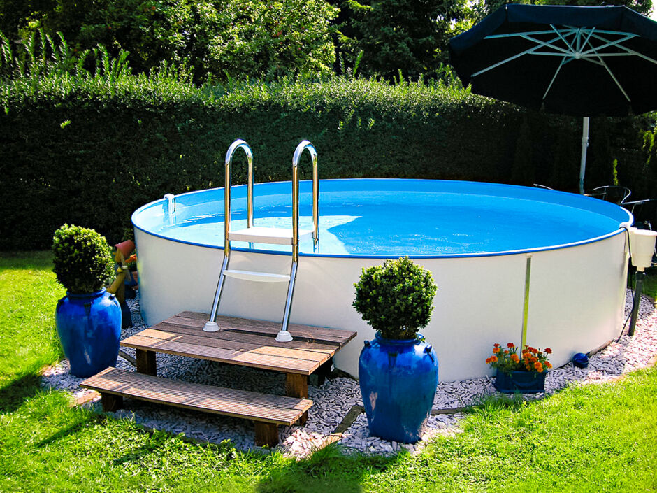 Alles f r den sonnenanbeter zuhausewohnen for Bauhaus pool
