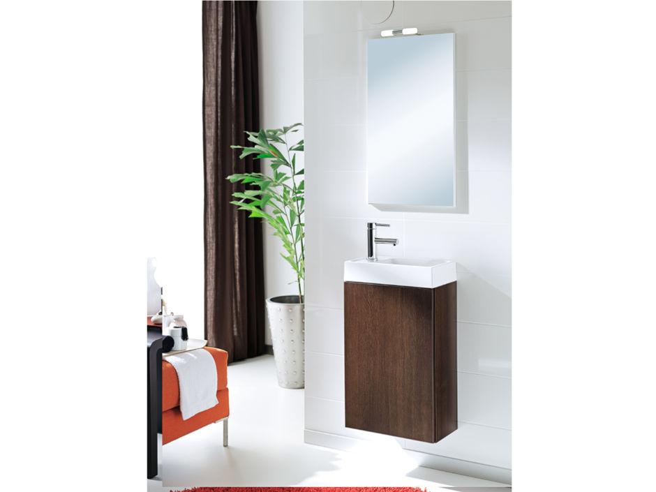 kleines badezimmer zuhausewohnen. Black Bedroom Furniture Sets. Home Design Ideas