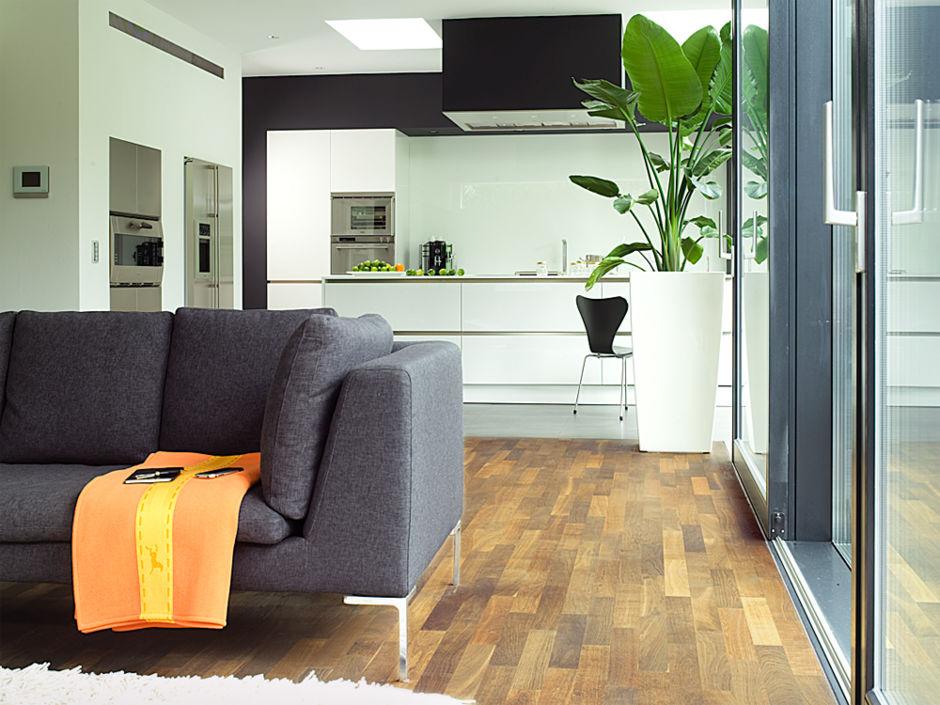 Umbau mit weitsicht zuhausewohnen - Bodenstrahler wohnzimmer ...