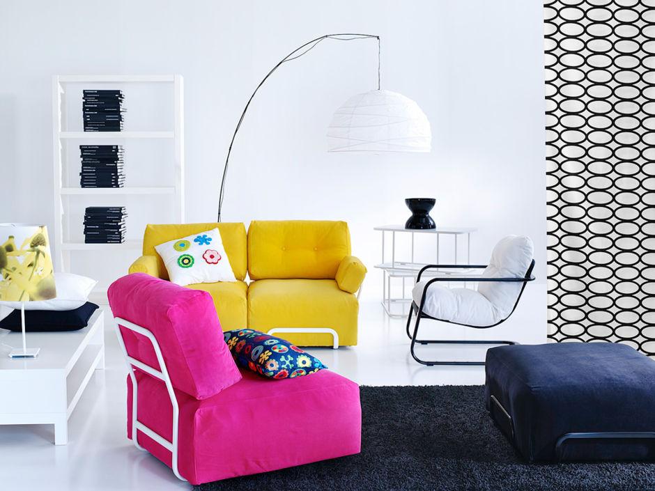 frische farben f r helle und gro e r ume zuhausewohnen. Black Bedroom Furniture Sets. Home Design Ideas