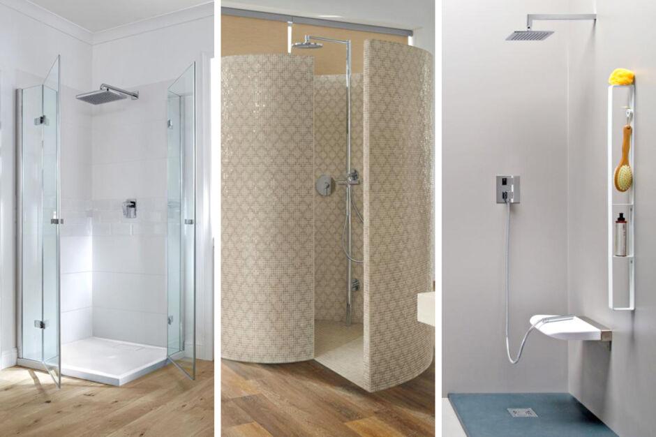 Begehbare Duschen. Save