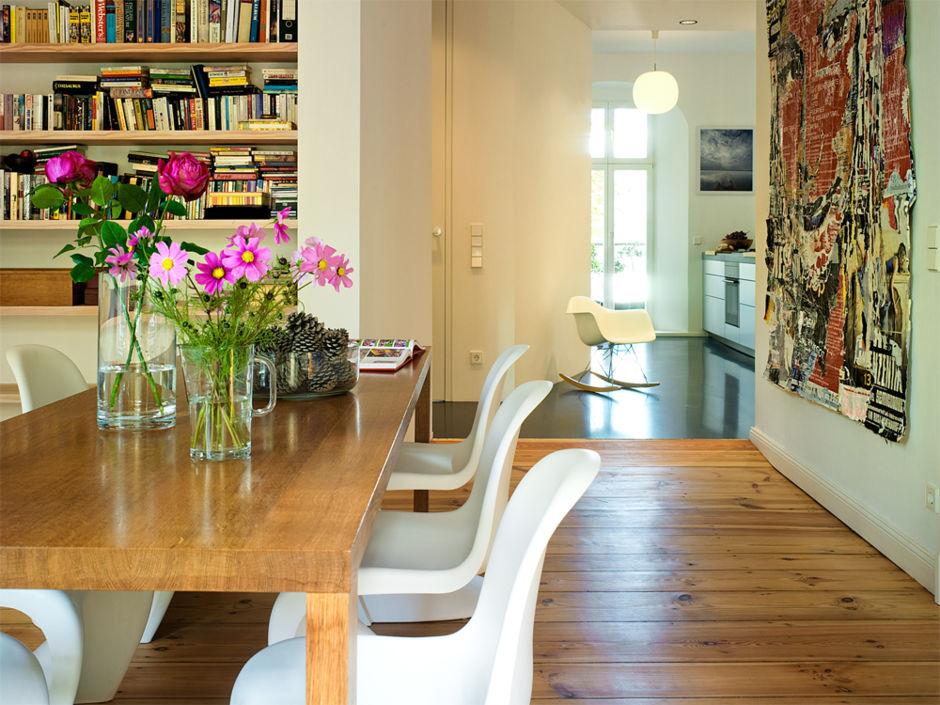 wohnen und essen in einem raum zuhausewohnen. Black Bedroom Furniture Sets. Home Design Ideas