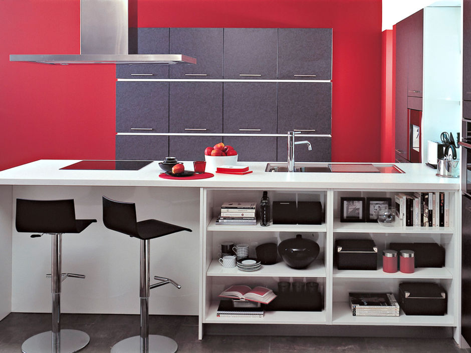 gestaltungstipps f r ihre k che zuhausewohnen. Black Bedroom Furniture Sets. Home Design Ideas