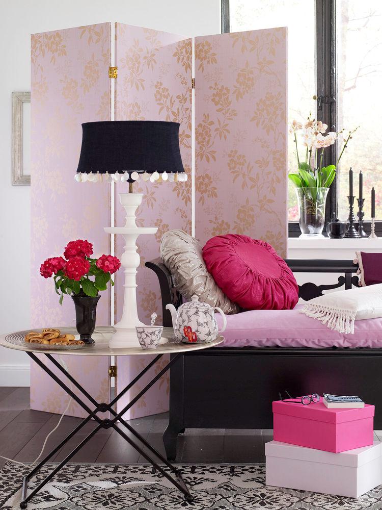 florales design zuhausewohnen. Black Bedroom Furniture Sets. Home Design Ideas