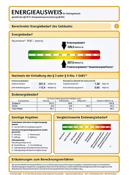 informationen ueber den neuen energieausweis zuhausewohnen