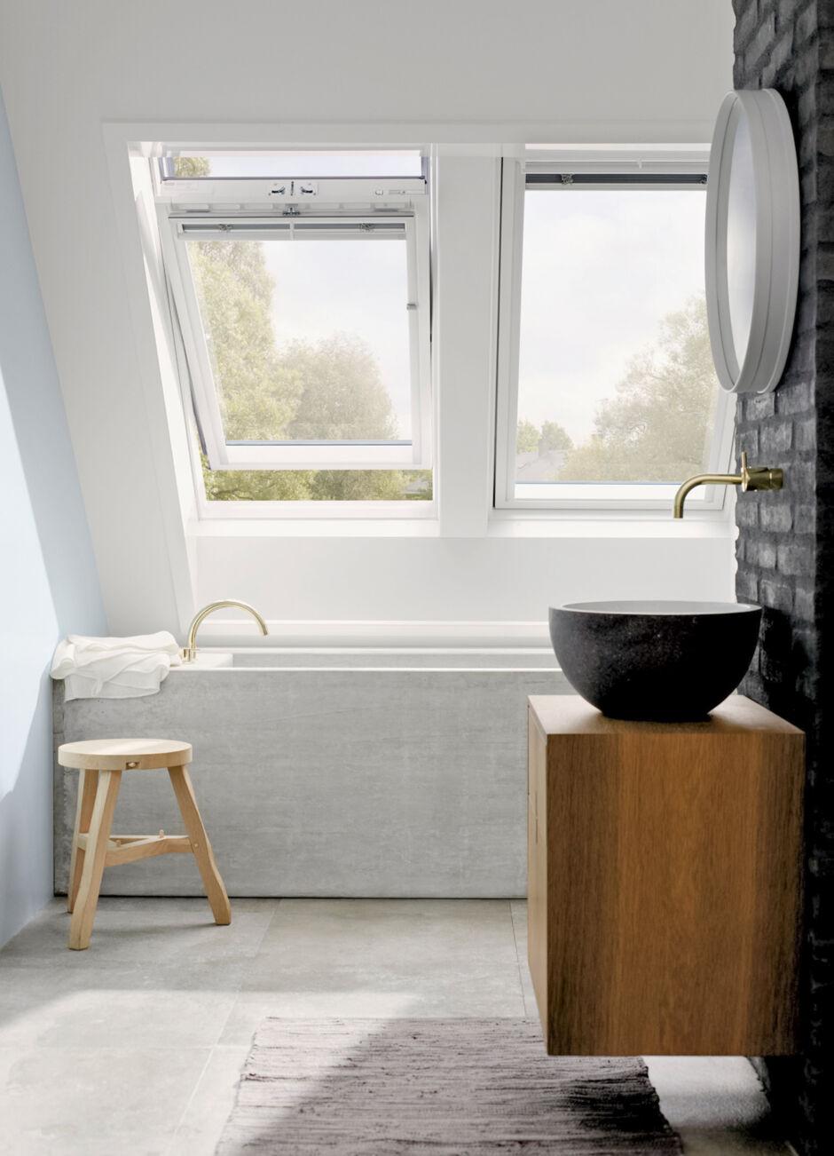 so gestalten sie r ume unterm dach zuhausewohnen. Black Bedroom Furniture Sets. Home Design Ideas