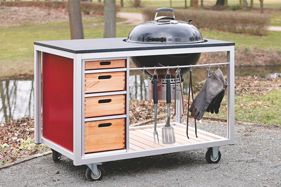 Outdoorküche Gas Ideal : Outdoorküchen zuhausewohnen