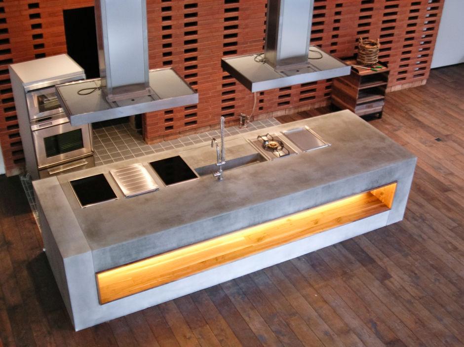 beton moderner baustoff f r innenr ume zuhausewohnen. Black Bedroom Furniture Sets. Home Design Ideas