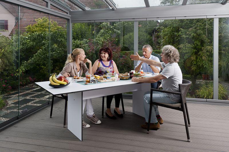so nutzen sie ihre terrasse das ganze jahr zuhausewohnen. Black Bedroom Furniture Sets. Home Design Ideas