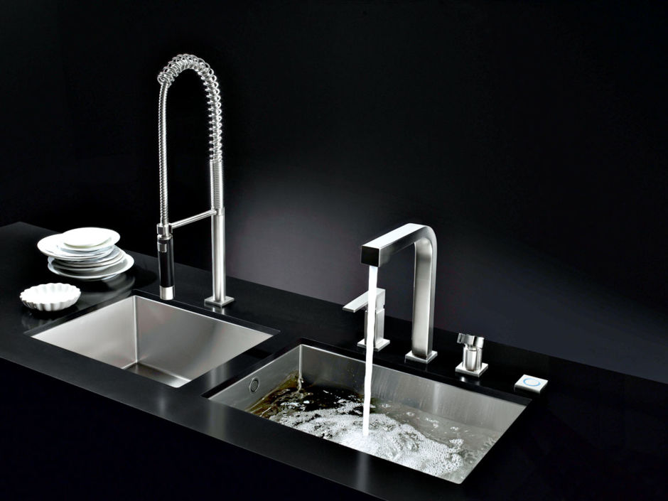 Ergonomische Spülen und innovatives Wasserhahn-Design   Zuhausewohnen